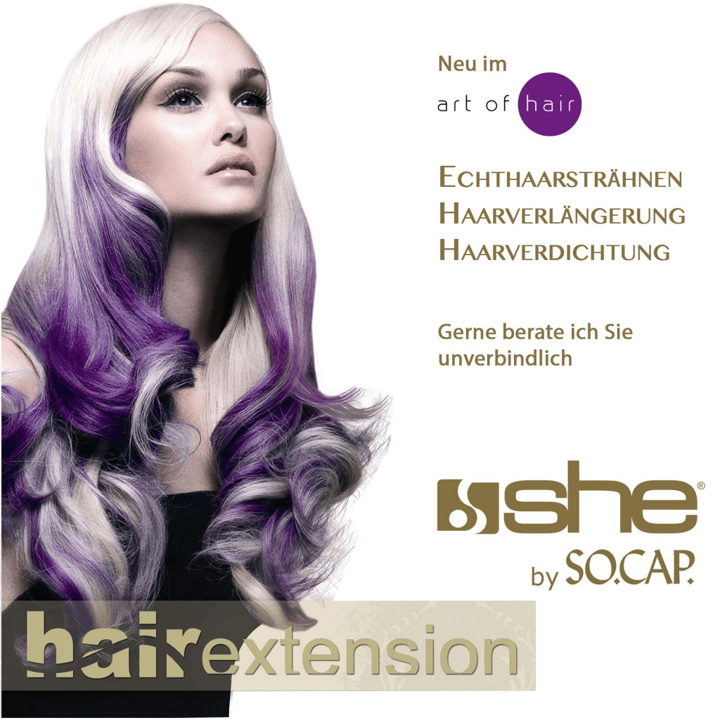 Extensions art of hair